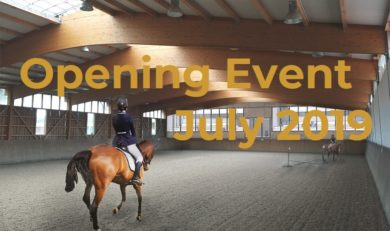 Indoor Arena Opening Event