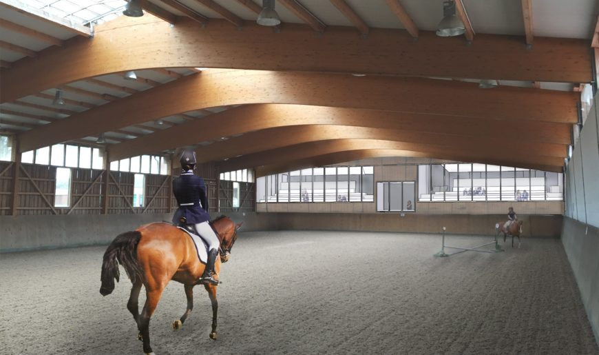 Exciting News – Indoor arena refurbishments due to start in April
