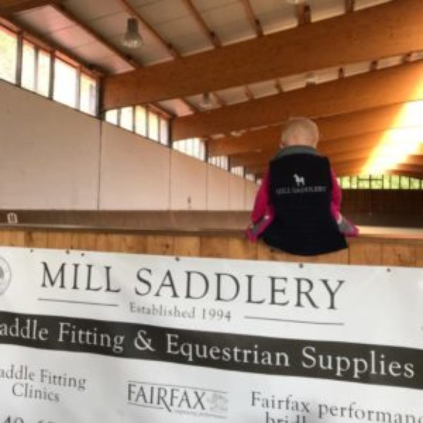Mill Saddlery saddle and Fairfax bridle fitting clinic